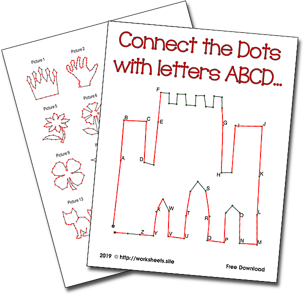 Connect the Dots with Letters