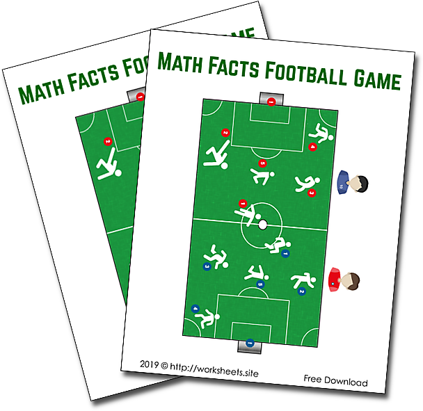 Math Facts Football Game