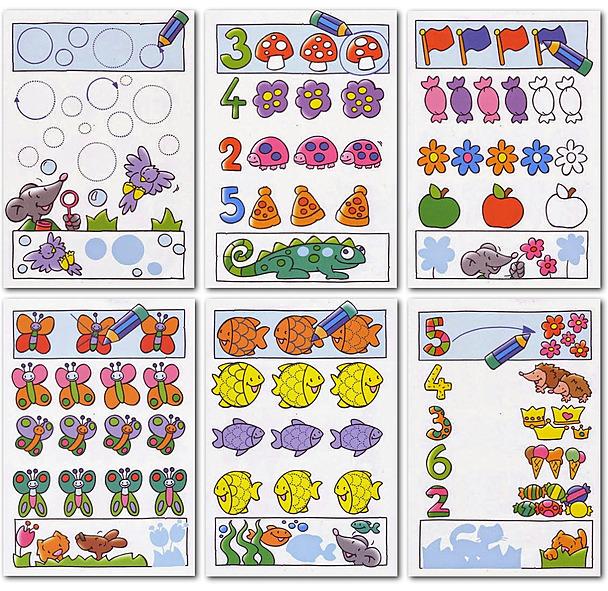 Free Preschool Workbooks