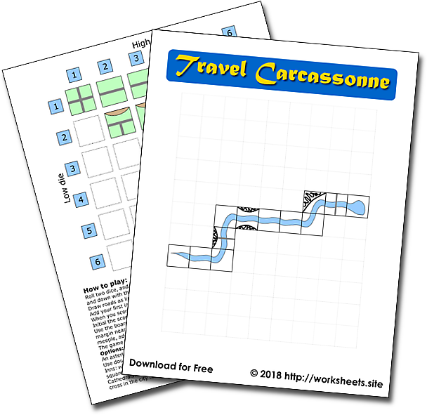 Travel Carcassonne Game